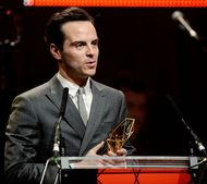 Andrew Scott wins supporting actor award at BIFAs - photo by Dave J Hogan/Getty Images