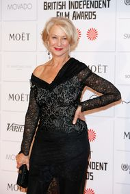 Helen Mirren at the 2014 BIFAs - photo by Tristan Fewings/Getty Images