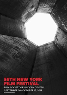 Richard Serra's 55th New York Film Festival poster