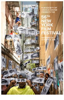56th New York Film Festival poster designed by Ed Lachman and JR