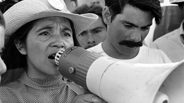Dolores- Dolores Huerta bucks 1950s gender conventions by co-founding the country's first farmworkers' union. Wrestling with raising 11 children, gender bias, union defeat and victory, and nearly dying after a San Francisco Police beating, Dolores emerges with a vision that connects her newfound feminism with racial and class justice.