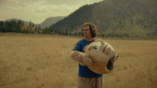Kyle Mooney in Brigsby Bear - Brigsby Bear Adventures is a children's TV show produced for an audience of one: James. When the show abruptly ends, James's life changes forever, and he sets out to finish the story himself.