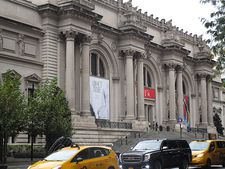 About Time: Fashion and Duration banner at The Metropolitan Museum of Art