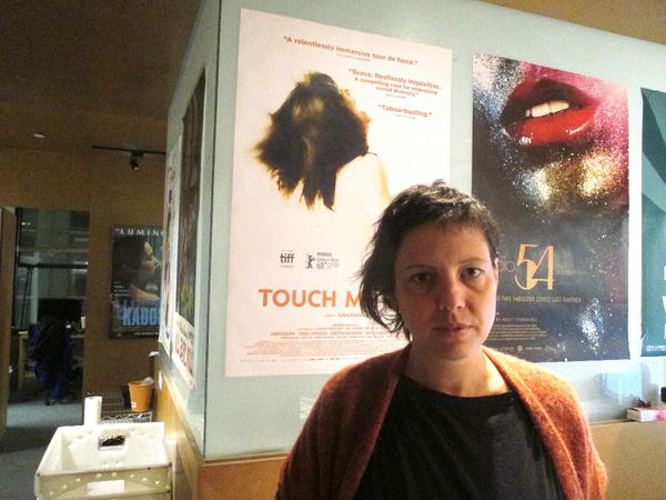 "Touch Me Not director Adina Pintilie: ""Einstürzende Neubauten and Blixa Bargeld it's very important. It has always been. In particular the piece that you hear in the film. Melancholia speaks about the subconscious of the city."""