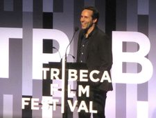 "2017 Tribeca Best Actor award winner ‪Alessandro Nivola‬: ""Sometimes the creative process can feel more real than life itself."""