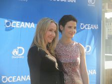 Oceana event with Alexandra Cousteau and Cobie Smulders