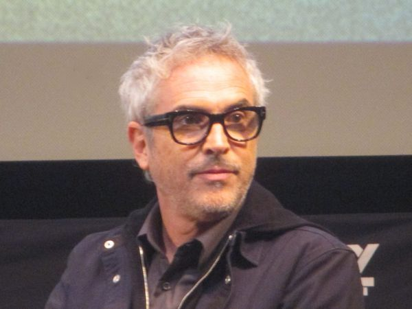 ROMA director/cinematographer Alfonso Cuarón, winner of Best Director for Gravity, starring Sandra Bullock and George Clooney