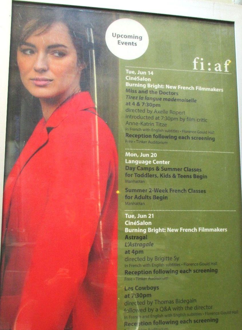 Eye For Film: Alliance Française poster