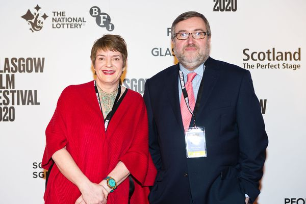 Glasgow Film Festival co-directors Allison Gardner and Allan Hunter