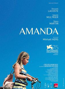 Amanda French poster - World Première at the Venice Film Festival