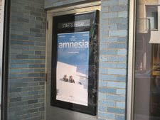 Amnesia poster at Cinema Village in New York