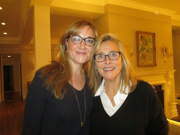Tower co-executive producers Amy Rapp and Meredith Vieira (also with Steve Eckelman, Pamela Colloff, Luke Wilson, Sally Jo Fifer, Lois Vossen)