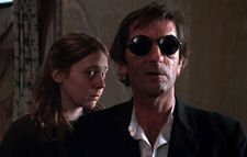 Amy Wright with Harry Dean Stanton in John Huston's Wise Blood