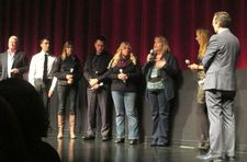 An Open Secret world premiere John Connolly, Evan H., Anita H., Joey C., Paula Dorn, Anne Henry, Amy Berg and Thom Powers