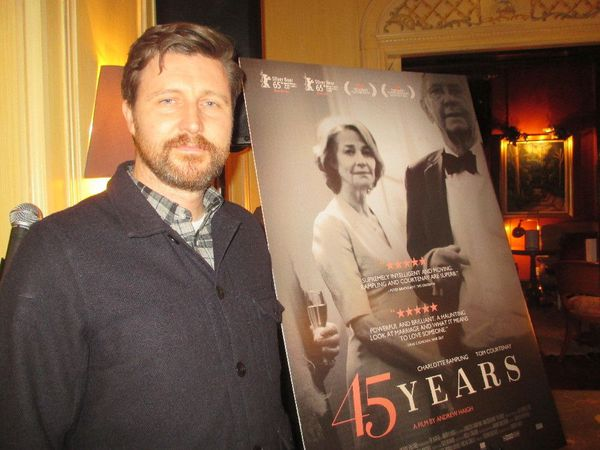 45 Years director Andrew Haigh