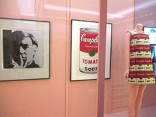 Andy Warhol Self-Portrait - Tomato from Campbell's Soup 1 - Souper Dress