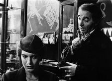 Angela Winkler as Agnes Matzerath with Charles Aznavour as Sigismund Markus in The Tin Drum