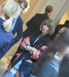 Condé Nast Artistic Director and Vogue Editor-in-Chief Anna Wintour