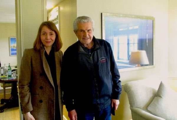 "Claude Lelouch with Anne-Katrin Titze on Quentin Tarantino and Le Voyou: ""He told me if he hadn't seen that film he wouldn't have made Pulp Fiction."""
