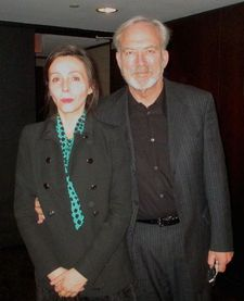 James Keach with moderator Anne-Katrin Titze: