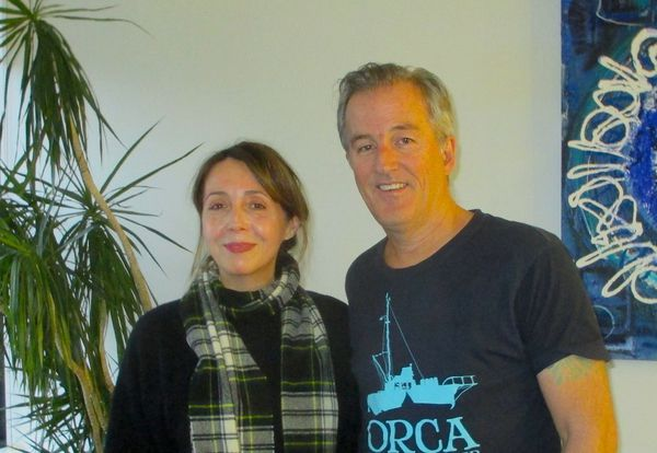 Luke Davies, Oscar nominated screenwriter for Lion with Anne-Katrin Titze