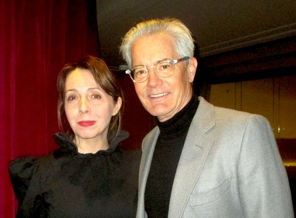 "Kyle MacLachlan with Anne-Katrin Titze in Batsheva on his role in Giant Little Ones: ""It's the language and I think a perspective that is one that we don't necessarily hear that often."""