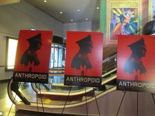 Anthropoid posters at AMC Lincoln Square