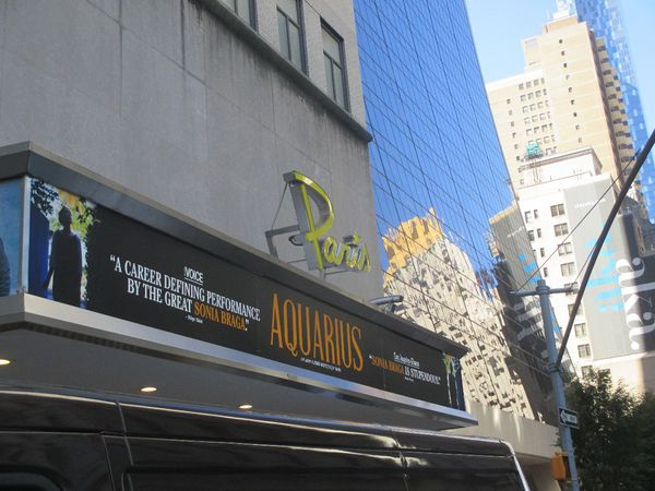 Aquarius at The Paris Theatre in New York
