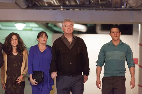 Iris Gilad, Karen Allen, Michael Harney and Theo Rossi in Bad Hurt