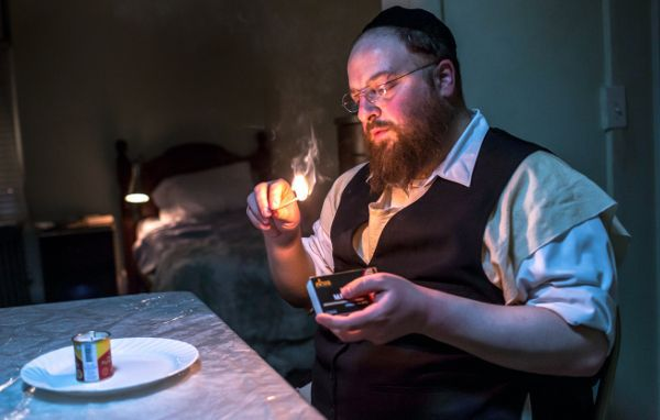 Menashe Lustig in the film Alex Lipschultz: 'We definitely had conversations with Menashe and other performers in the film about if there would be or could be serious repercussions for them about being in this movie and what those might be and if they were really prepared for that, should it come'