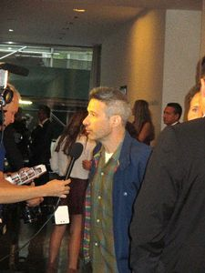 Beastie Boys' Adam Horovitz on the My Old Lady family red carpet