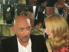 Ben Kingsley and Patricia Clarkson at the Southgate after party