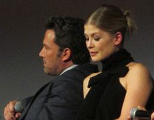 "Ben Affleck with Rosamund Pike on Nick Dunne: ""What I found is that men and women  have very different reactions to this character."""