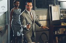Bérénice Béjo and Jean Dujardin in Michel Hazanavicius' OSS 117: Cairo, Nest Of Spies