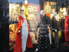 "Bergdorf Goodman window tribute to Iris: ""I don't have any rules because I would only be breaking them"" - Iris Apfel"