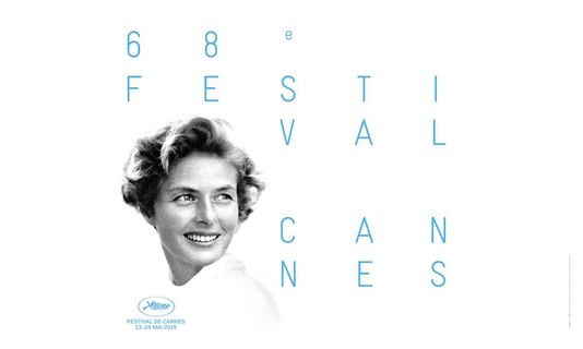 Ingrid Bergman featured on a Cannes poster.