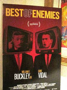 Best Of Enemies poster at Le Cirque