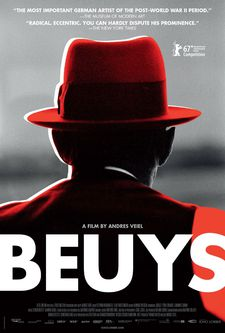 "Beuys US poster: ""You have to have the permission of the estate to use art in the film."""