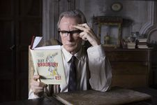 Edmund Brundish (Bill Nighy) reads Ray Bradbury's Fahrenheit 451