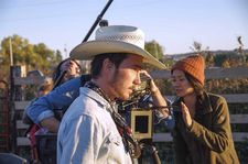 Joshua James Richards films Brady Jandreau as Brady Blackburn with Chloé Zhao directing
