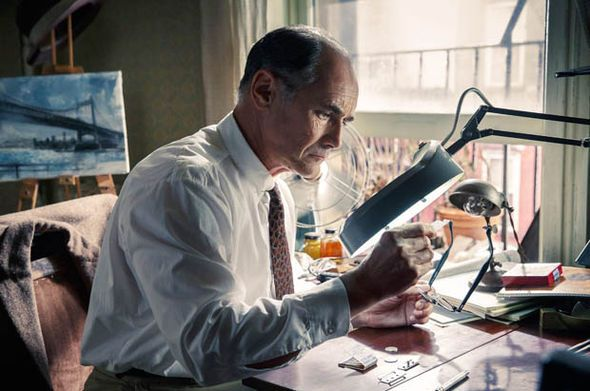 Rylance as Rudloph Abel in Bridge Of Spies