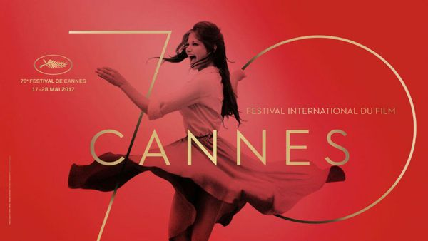 The official Cannes 70th edition poster, featuring Claudia Cardinale