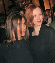 Carine Roitfeld and Karen Elson - photo by Anne-Katrin Titze