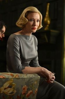 "Cate Blanchett as Carol: ""She [Cate] was attached to it before Todd and I came on board."""