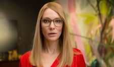 Cate Blanchett as CEO in Manifesto combines the ideas of Wassily Kandinsky, Franz Marc, Wyndham Lewis and Barnett Newman
