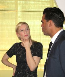 Bobby Cannavale at the Woody Allen Blue Jasmine lunch honoring Cate Blanchett