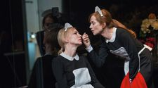 Cate Blanchett and Isabelle Huppert in The Maids