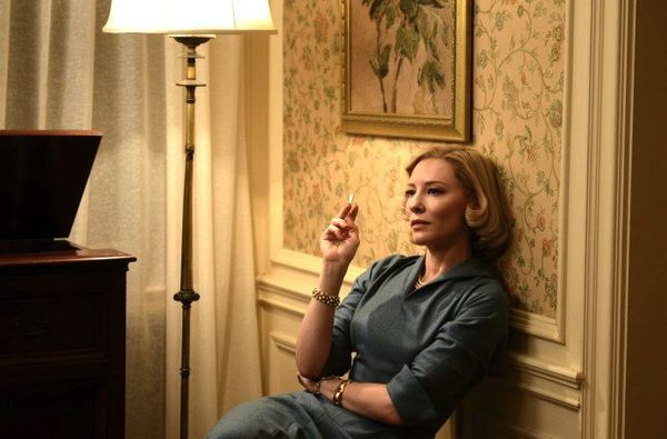 "Todd Haynes on Cate Blanchett as Carol: ""Smoking is the perfect sort of conductor of desire …"""
