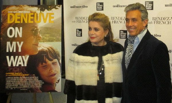 "Charles Cohen on Catherine Deneuve in On My Way: ""an incredible performance by the iconic Catherine Deneuve."""