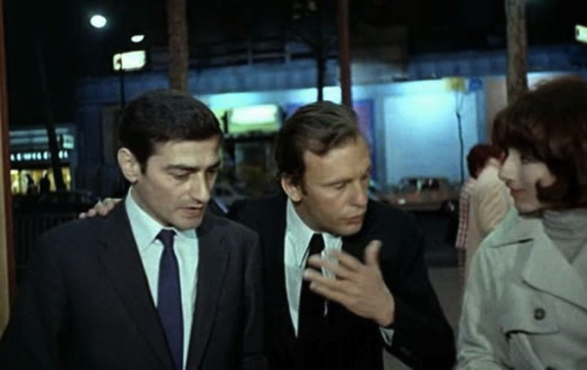 Charles Denner, Jean-Louis Trintignant and Judith Magre